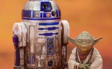 ARTFX+ 『スター・ウォーズ エピソード5/帝国の逆襲』 ヨーダ & R2-D2 ダゴバパック 1/10 塗装済み簡易組立キット