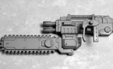 M.S.G モデリングサポートグッズ ウェポンユニット13 チェーンソー プラモデル