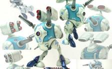 メタルボーイ 『超時空要塞マクロス』 リガード ミサイルポッドタイプ 未塗装組立キット