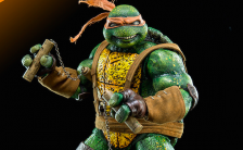 TEENAGE MUTANT NINJA TURTLES Kevin Eastman TMNT – Mikey(ケビン・イーストマンTMNT – マイキー) 1/6 可動フィギュア