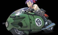 バンダイ Figure-rise Mechanics 『ドラゴンボール』 ブルマの可変式No.19バイク