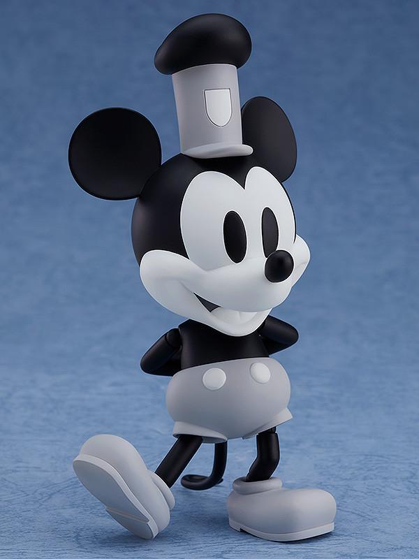 ねんどろいど 『蒸気船ウィリー』 ミッキーマウス 1928 Ver.(シロクロ)