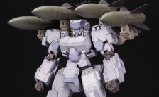 フレームアームズ 1/100 三二式三型 誘導弾 改良ホーク搭載型 轟雷プラモデル
