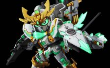 SDBD 『ガンダムビルドダイバーズ』RX-零丸 神気結晶プラモデル