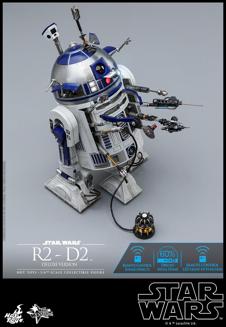 ムービー・マスターピース 『スター・ウォーズ』 1/6 R2-D2(デラックス版)