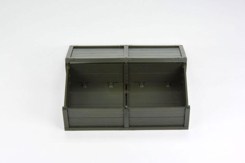 リトルアーモリー [LD021] ミリタリーハードケースB2 1/12 プラモデル