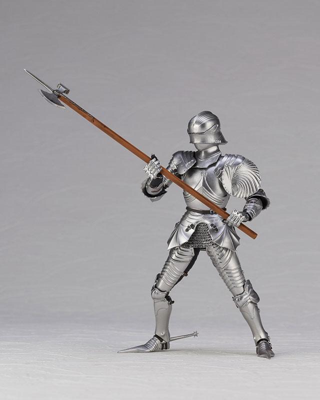 KT Project KT-027 タケヤ式自在置物15世紀ゴチック式エクエストリアンアーマー シルバー