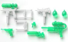 リトルアーモリー [LA053] ウォーターガンC(ホワイト×クリアグリーン) 1/12 プラモデル