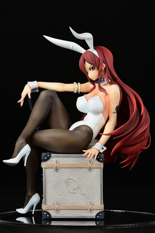 『FAIRY TAIL』 エルザ・スカーレット Bunny girl_Style/type white 1/6 完成品フィギュア