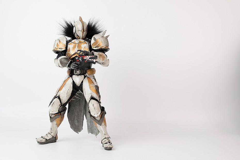 『Destiny 2』 Titan Calus's Selected Shader(タイタン カルスに選ばれし者・シェーダー) 1/6 可動フィギュア