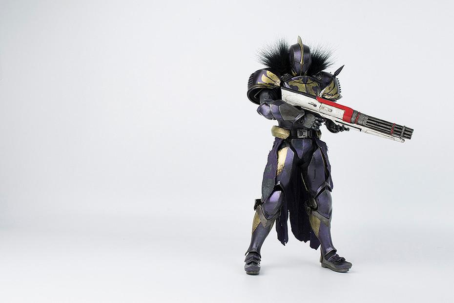 『Destiny 2』 Titan Golden Trace Shader(タイタン 黄金の軌跡・シェーダー) 1/6 可動フィギュア