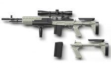 リトルアーモリー [LA051] Mk14Mod0 EBRタイプ 1/12 プラモデル
