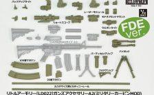 リトルアーモリー [LD022] ガンズアクセサリーA2 1/12 プラモデル