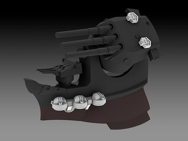 PLAMAX MF-17 minimum factory 『艦隊これくしょん -艦これ-』 大和(ボーナスパーツ付属) 1/20 プラモデル (再販)