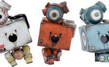 3AGO 『World War Robot』 ボムV2スクウェア・セット 1/9 可動フィギュア