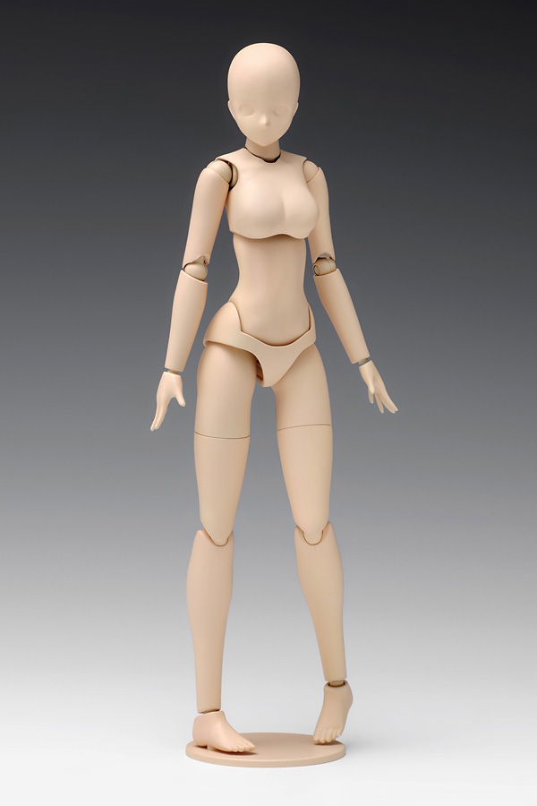 1/12スケール ムーバブルボディ 女性型[Bバージョン] プラモデル